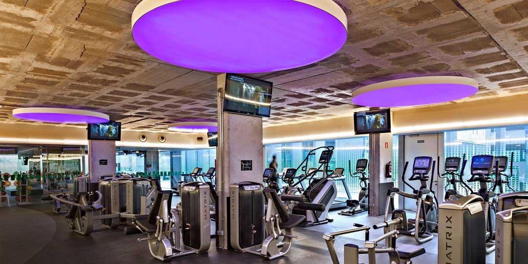 Diseño de interiores de gimnasios